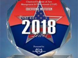 CIAP Receives Best Award in Lewes
