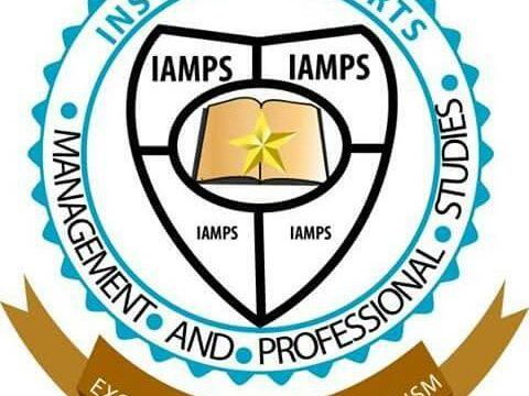 Institute of Arts Management & Professional Studies (IAMPS) Logo